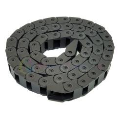 Пластиковая цепь (гибкий кабель-канал) для шлейфа СНПЧ, 1 метр