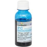 Чернила DCTec для Canon imagePROGRAF W7200, W6400, W6200, W8400, W8200, W8400D (картриджи BCI-1411PС, BCI-1421PС, BCI-1431PС), светло-голубые Photo Cyan, водные, 100 мл.