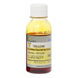 Чернила DCTec для Canon imagePROGRAF W7200, W6400, W6200, W8400, W8200, W8400D (картриджи BCI-1411Y, BCI-1421Y, BCI-1431Y, BCI-1451Y), жёлтые Yellow, водные, 100 мл.