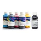 Чернила для Canon PIXMA MG6140, MG6240, MG8140, MG8240 (для заправки картриджей PGI-425, CLI-426), InkTec + DCTec, пигментные + водные, комплект 6 цветов