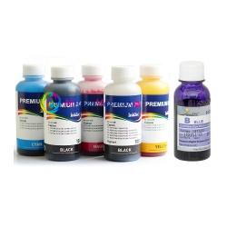 Чернила для Canon PIXMA TS8140, TS8240, TS8340, TS9140 (для заправки картриджей PGI-480, CLI-481), InkTec + DCTec, пигментные + водорастворимые, комплект 6 цветов по 100 мл