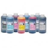 Чернила для Epson Stylus Pro 4880, 9880, 9800, 4800, 7800, 7880, Photo R2400, R2880, DCTec водные С МАТОВЫМ ЧЁРНЫМ, комплект 8 цветов по 1 литру
