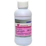 Текстильные чернила пурпурные (Magenta) для прямой печати на ткани для Epson, Mutoh, Mimaki, Roland,  (пигмент, DCTec), 200 мл