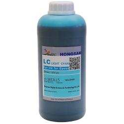 Чернила для Epson L800, L1800, L810, L815, L850, DCTec светло-голубые Light Cyan водорастворимые, 1 литр