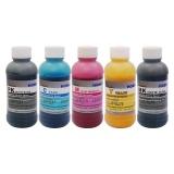 Ультрахромные чернила для Epson SureColor SC-T3000, T5000, T7000, T3200, T5200, T7200, Epson Stylus Pro 7700, 9700,Ultrachrome K3 Vivid Magenta, пигментные, комплект 5 цветов по 200 мл, DCTec