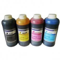 Чернила для Epson L4160, L4150, L4167, L655, L1455, L605, L6160, L6170, L6190, ET-2700, ET-2750, ET-3600, ET-3700, ET-3750, ET-4550, ET-4750, ET-16500 (Фабрика Печати Ecotank), DCTec пигментные + водорастворимые, 4 цвета по 1 литру