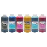 Ультрахромные чернила для Epson Stylus Pro 10600 Ultrachrome, пигментные, комплект 6 цветов по 1 литру, DCTec