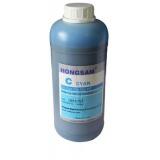 Чернила для HP DesignJet 5500, 5000, 5100 (для заправки картриджей HP 81, 705) голубые Cyan, DCtec водорастворимые, 1 литр