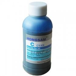 Чернила для HP DesignJet 5500, 5000, 5100 (для заправки картриджей HP 81, 705) голубые Cyan, DCtec,  200 мл