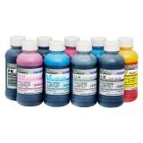 Чернила для Epson SureColor SC-P600, SC-P800, SC-P6000, SC-P8000, Stylus Photo R3000, Pro 3800, 3880, 7890, 9890, 11880, DCTec водные, комплект 9 цветов по 200 мл