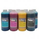 Чернила для Epson Stylus Pro 4880, 9880, 9800, 4800, 7800, 7880, Photo R2400, R2880, DCTec пигментные С МАТОВЫМ ЧЁРНЫМ, комплект 8 цветов по 1 литру