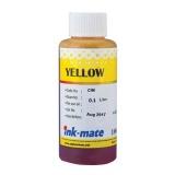 Чернила для HP OfficeJet (Pro) 7110, 8600, 8610, 8100, 7612, 8000, 8500a, 8500, x476dw, 7510, 7610, 6700, 8600 Plus, 6100, x451dw, x551dw, 8620, 276dw, 6600, x576dw, 251dw, 8630 (под HP 933, 940, 951, 971), Ink-Mate пигмент, жёлтые Yellow, 100 мл
