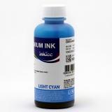 Чернила светло-голубые для Epson Stylus P50, 1410, T50, R270, TX650, PX660, R290, 1500W, RX610, R390, RX590, T59, PX720WD, PX730WD, RX690, RX615, Artisan 730, 837, 1430, XP-960, EP-707A, водные InkTec Light Cyan, 100 мл