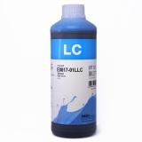 Чернила для L800, L805, L1800, L850, L810 (Epson Фабрика Печати / T6735), водорастворимые InkTec E0017-01LLC, светло-голубые Light Cyan, 1 литр