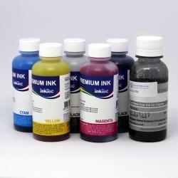 Чернила для Canon PIXMA TS8040, MG7740, MG7140, iP8740, MG6340, MG7540, TS9040 (для заправки картриджей PGI-450, CLI-451, PGI-470, CLI-471), InkTec + DCTec, пигментные + водорастворимые, комплект 6 цветов
