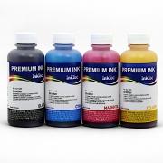 Комплект водных чернил InkTec B1100 для Brother MFC-235C, MFC-240C, MFC-260C, MFC-3360C, MFC-440CN, MFC-465CN, MFC-5460CN, MFC-660CN, MFC-885CW водные, комплект 4 x 100 мл