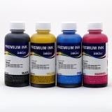 Чернила для Epson L132, L312, L222, L366, L362, L566, L382, L386, L486, L364, ET-2500, ET-2550, ET-2600, ET-2650, ET-4500, ET-14000 (Фабрика печати, Ecotank, аналог T6641-T6644), InkTec E0010, водные, комплект 4 х 100 мл