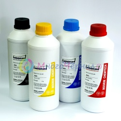 Ультрахромные чернила для Epson Stylus Pro 4450, 4400, 9450, 7450, 7400, 9400Ultrachrome K3 Vivid Magenta, пигментные, комплект 4 цвета по 1 литру, Moorim