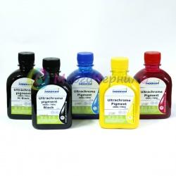 Ультрахромные чернила для Epson T3000, T7000, 7700, T5000, 9700 Ultrachrome K3 Vivid Magenta, пигментные, комплект 5 цветов по 250 мл, Moorim