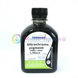 Чернила пигментные Moorim для Epson Ultrachrome K3/HDR/XD, Light Black, серые, 250 мл