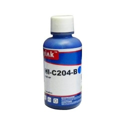 Универсальные голубые (cyan) чернила для HP, Ninestar (водные / водорастворимые), 100 мл