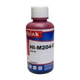Универсальные пурпурные (magenta) чернила для HP, Ninestar (водные / водорастворимые), 100 мл