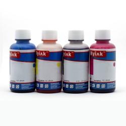 Комплект чернил для заправки картриджей HP, универсальные, Ninestar (водные / водорастворимые), 4 х 100 мл