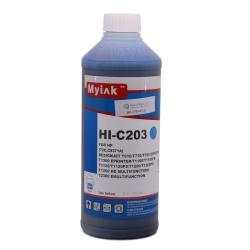 Чернила для заправки HP DesignJet T790, T795, T610, T770, T2300, T1200, T1300, T1100, T1120, T620 (для картриджей HP 72), голубые Cyan , Ninestar, 1 литр