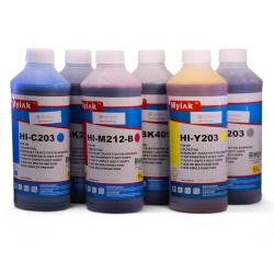 Чернила для заправки HP DesignJet T790, T795, T610, T770, T2300, T1200, T1300, T1100, T1120, T620 (для картриджей HP 72), Ninestar MyInk, комплект 6 x 1 литр