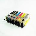Нано-картриджи Bursten Nano 2 для Canon PIXMA MG7740 (картриджи PGI-470, CLI-471) перезаправляемые, 6 штук с чипами