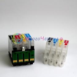 Перезаправляемые нано-картриджи Bursten Nano 3 для Epson Stylus TX210, TX200, TX209, TX219, TX400, TX409, TX410, TX419