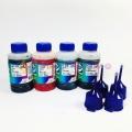 Чернила OCP для Epson L100, L110, L120, L1300, L132, L200, L210, L222, L300, L312, L350, L355, L362, L364, L366, L456, L550, L555, L566, L655, L3050, L3060, L3070, WorkForce ET-4500, Expression ET-2550, ET-2500 (T6641-T6644), водные, 4 x 70 гр.