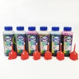 Чернила OCP для Epson Stylus Photo 1500W, P50, T50, PX660, PX650, 1410, R270, R290, TX650, PX730WD, RX610, R390, RX590, R295, RX690, TX659, TX700W, TX710W, TX800, XP-55, XP-960, XP-860, XP-750, XP-760, XP-950, XP-850, водные, комплект 6 x 100 гр