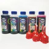 Чернила для Epson Expression Premium XP-640, XP-630, XP-600, XP-830, XP-700, XP-800, XP-610, XP-810, XP-605, XP-820, XP-620, XP-530, XP-710, XP-520, XP-6000/6100/6105/6005, XP-900, XP-510, XP-540, OCP светостойкие, пигмент + водные, комплект 5 х 100 мл