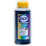 Чернила голубые Cyan OCP для HP Officejet Pro x451dn, x451dw, x551dw, x476dn, x476dw (заправка картриджей HP 970/971), пигментные, 100 мл