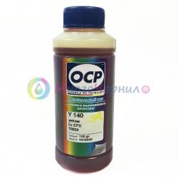 Чернила OCP Y 140 для картриджей Epson Claria T0824 / T0804 (Yellow), 100 gr