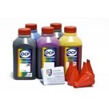 Чернила OCP для заправки Canon Pixma MG6840, MG5740, TS5040, TS6040 (картриджи PGI-470/PGI-270, CLI-471/CLI-271), пигмент + водные, комплект 5 x 500 мл