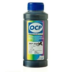 Чернила OCP для Epson Stylus PRO 3880, 4880, 7890, 9890, 11880, 3800, 7880, 9880, Stylus Photo R2400, BKP 202 Photo Black, чёрные, 100 мл