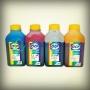Чернила для картриджей HP 920, 121, 178, 901, 364 (4 цвета), OCP пигмент + водные, комплект 4 х 500 мл