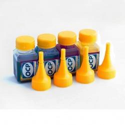 Чернила OCP для HP Deskjet Ink Advantage 3525, 5525, 6525, 4625, 4615 (картриджи HP 655, 685), комплект 4 x 25гр.