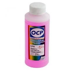 Жидкость OCP CFR для промывки корпусов и деталей принтеров от следов чернил (Cleaning Fluid Red), 100 мл