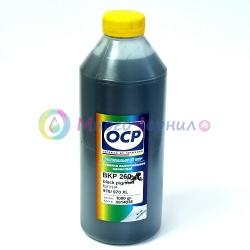 Чернила черные OCP для картриджей Brother LC-37/38, LC-900, 980, 985, 1000, 1100, LC-1240, 563, 960, 970 (BKP 45), 1 литр