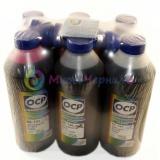 Чернила OCP с повышенной светостойкостью для Epson T50, P50, 1410, RX615, PX660, R270, TX650, R290, RX610, R390, водные, комплект 6 x 1000гр