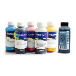 Чернила для Canon PIXMA TS8040, MG7740, MG7140, iP8740, MG6340, MG7540, MG6140, MG6240, MG8240, TS9040, MG8140 (для заправки картриджей PGI-425, CLI-426, PGI-450, CLI-451, PGI-470, CLI-471), InkTec + Pushkink, пигмент + водные, комплект 6 цветов по 100 мл