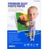 Фотобумага шёлк односторонняя, А6 (10,5x14,8), InkTec ITP-30SEPA6, 280 г/м2, 30 листов