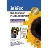 Бумага матовая односторонняя InkTec, А4 (21х29,7), ITP-7210, 105 г/м2, 100 листов