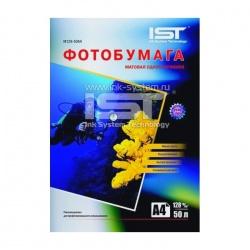 Фотобумага IST матовая односторонняя, A4 (21x29,7), 128 г/м2, 50 листов