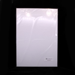 Бумага для визиток мелованная 250 г/м2, А4 (21х29,7), 20 листов
