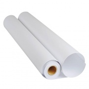 Бумага глянцевая в рулоне (фотобумага) для плоттера, 130 г/м2, ширина 610 мм, длина 30 м.