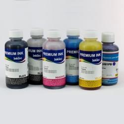 Чернила для Canon PIXMA TS8140, TS8240, TS8340, TS9140 (для заправки картриджей PGI-480, CLI-481), InkTec + Ninestar, пигментные + водорастворимые, комплект 6 цветов по 100 мл